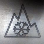 """Alpine Symbol oder """"Schneeflocke"""""""