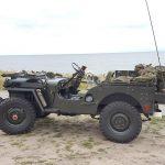 Willys Jeep und Malatesta KOBRA TRAC 215/80 R16.